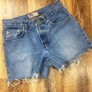 Vintage Old Navy | High Rise Cut Off Shorts